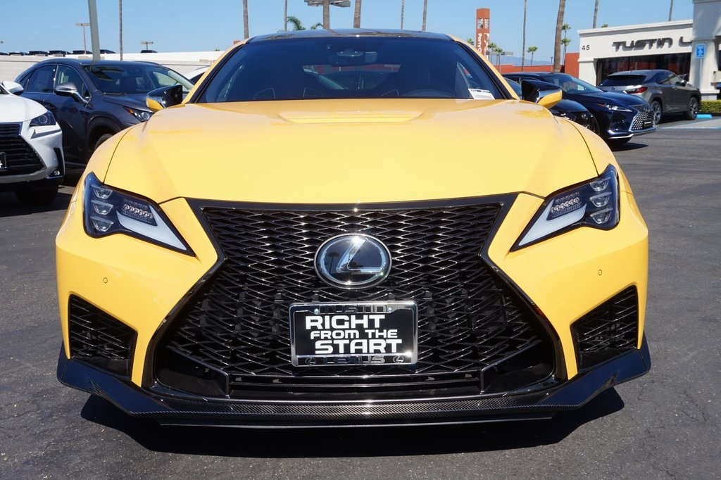 New 2020 Lexus RC F