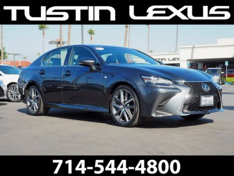 Certified Pre-Owned 2017 Lexus GS 350 F Sport